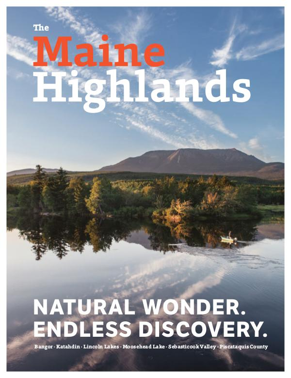 The Maine Highlands Guidebook The Maine Highlands Guidebook