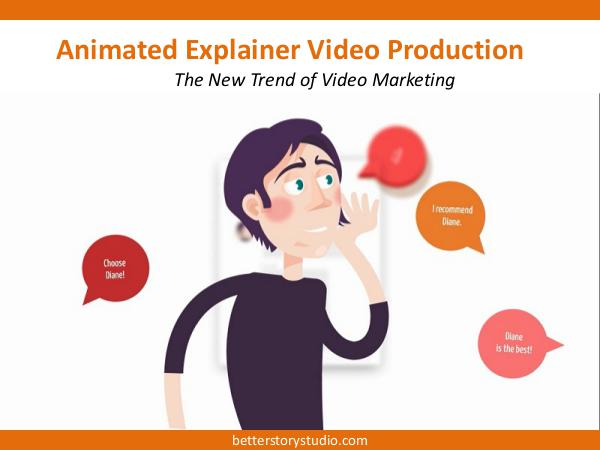 Animated Explainer Video Animated Explainer Video Production