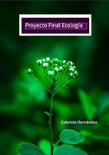 Proyecto de Ecología