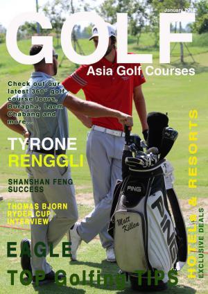 Asia Golf Courses January 2018 January 2018