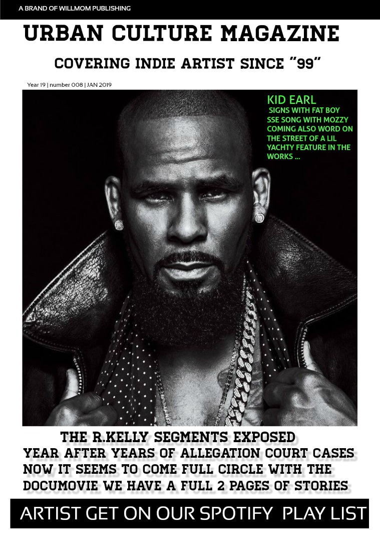 Urban Culture Magazine FEB ISSUE
