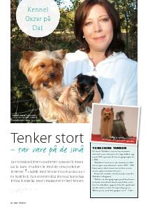 Artikler fra Hund & Fritid Tekst: Nina Østli, kennel Oxzar Vol !