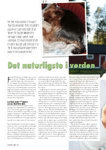 Artikler fra Hund & Fritid Tekst: Nina Østli, kennel Oxzar Vol. 2