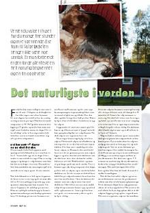 Artikler fra Hund & Fritid Tekst: Nina Østli, kennel Oxzar