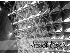 The Essence of Interior Design (June 2013)