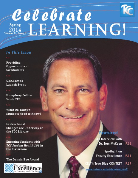 Celebrate Learning! Spring 2014 (Vol 5, Issue 2)