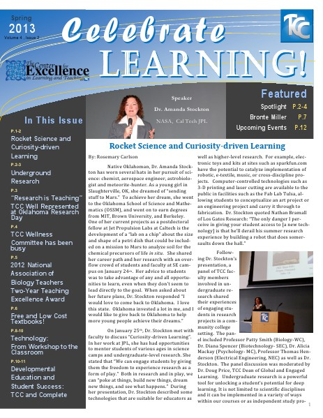 Spring 2013 (Volume 4, Issue 2)