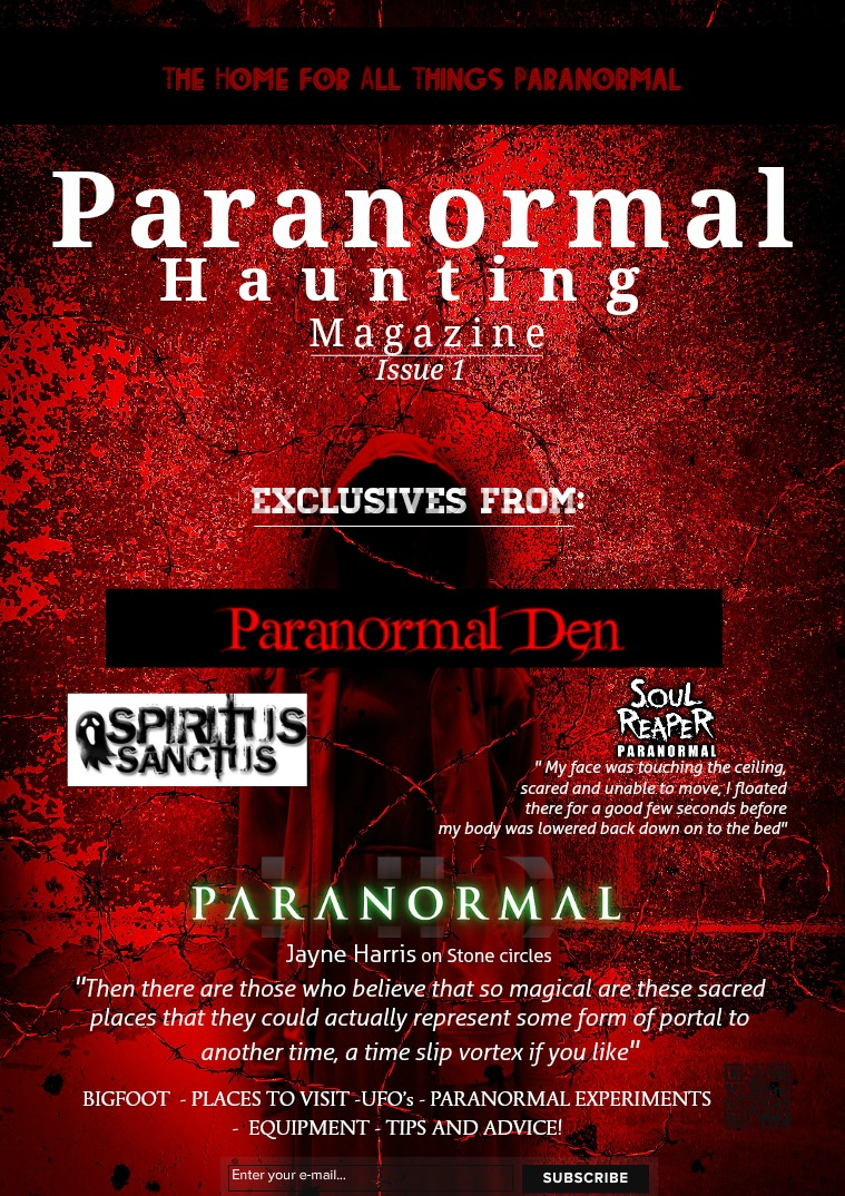 Paranormal Hauntings Issue 1 # 1
