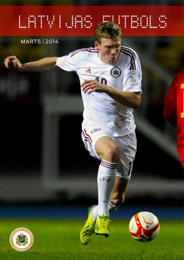 Latvijas Futbols Marts 2014