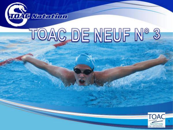 Newsletter TOAC NATATION 2019 TOAC DE NEUF N°3