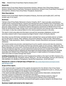 Axial Spondyloarthritis Pipeline Rising Demand 2017