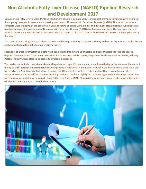 Market Research Non Alcoholic Fatty Liver Disease (NAFLD) Pipeline