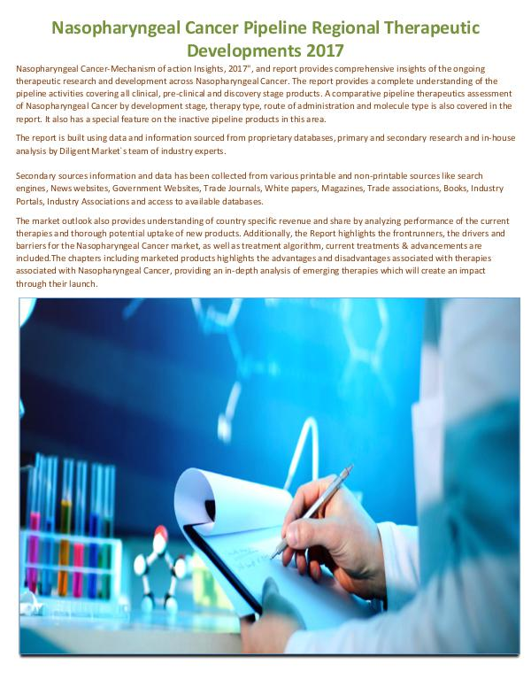 Nasopharyngeal Cancer Pipeline Regional Therapeuti