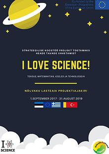 I LOVE SCIENCE second project magazine