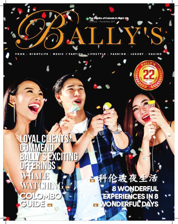 Ballys Magazine  November 2017 Bally's Magazine November 2017