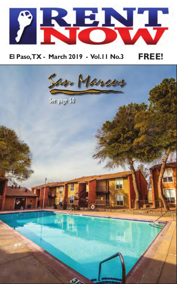 El Paso Rent Now Rent Now - March 2019