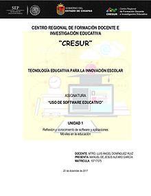 Apps, Software y Sitios de Educación.