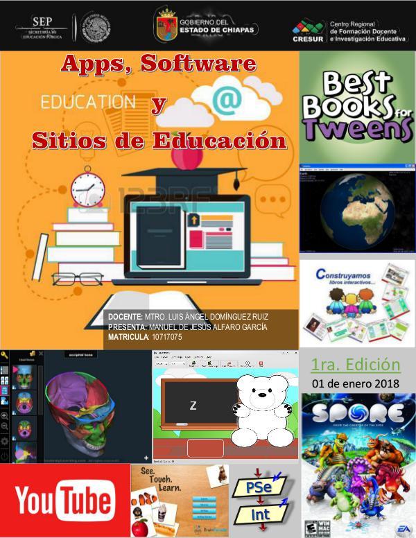 Apps, Software y Sitios de Educación. USE_U2_A1_MAAG_Revista