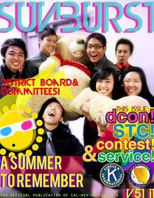 CNH CKI's The Sunburst Volume 55, Issue 3