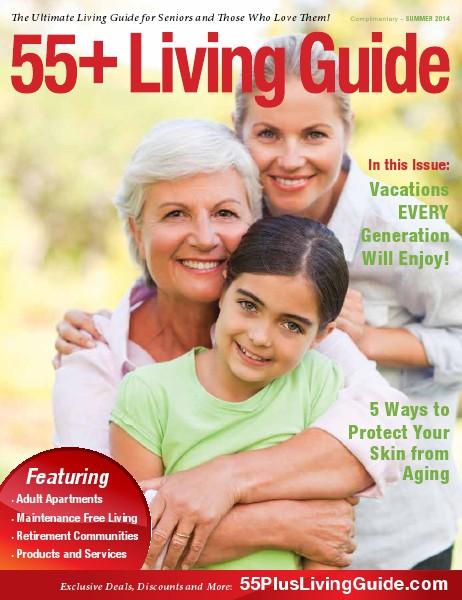 55+ Living Guide Summer 2014