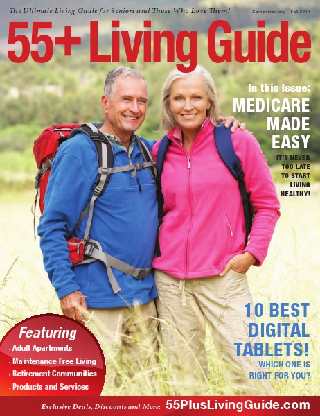 55+ Living Guide Fall 2014