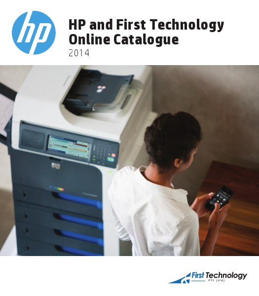 HP and First Technology Online Catalogue – 2014 01