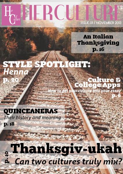 Her Culture Bi-Monthy Magazine Nov. 2013