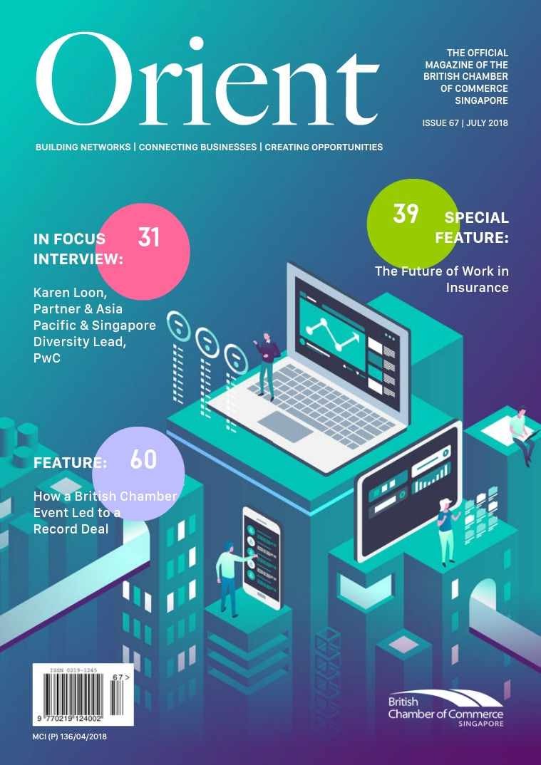 Orient Magazine Issue 67 - July 2018