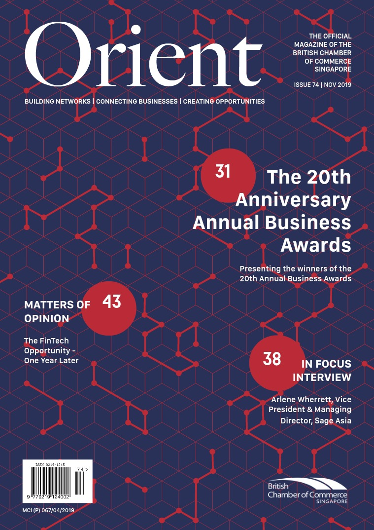Orient Magazine Issue 74 - November 2019