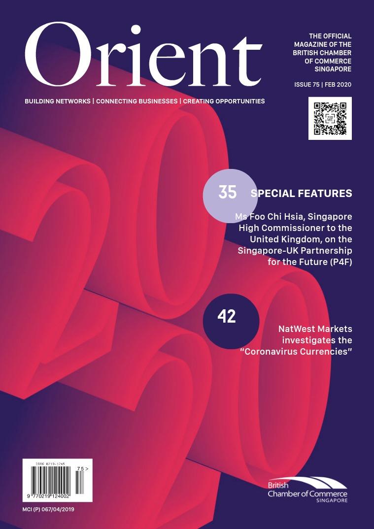 Orient Magazine Issue 75 - February 2020