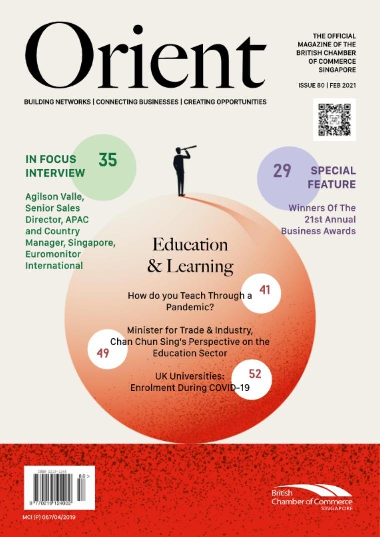 Orient Magazine Issue 80 - February 2021