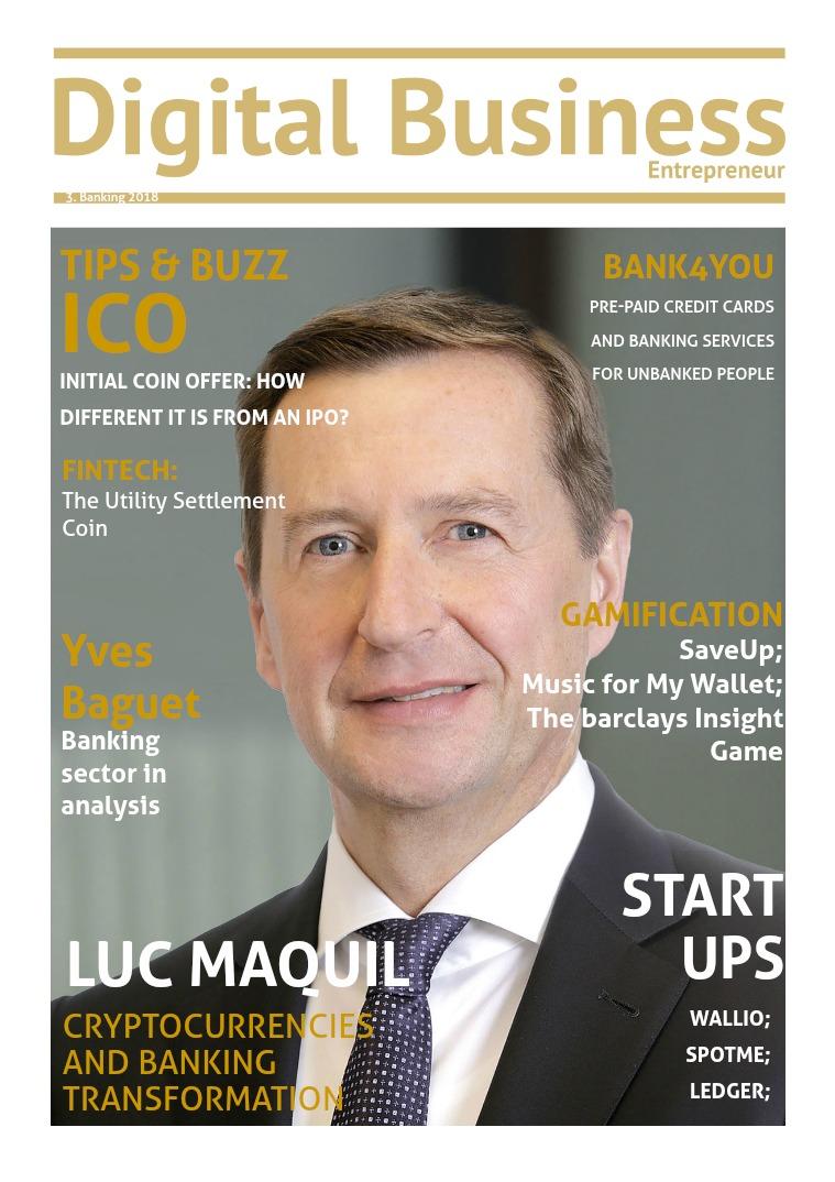 Digital Business Entrepreneur Magazine Banking