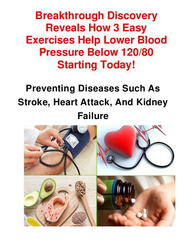 Blood Pressure Exercise Program Download Blood Pressure Exercise Program