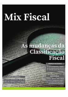 As mudanças da Classificação fiscal
