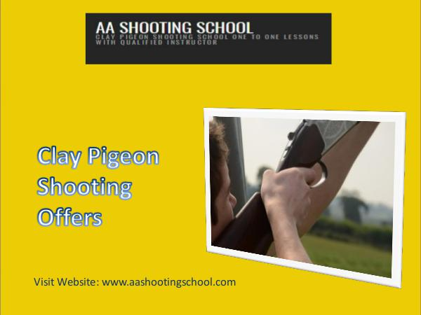 Clay Pigeon Shooting Offers from AA Shooting School, Dorset, UK Clay Pigeon Shooting Offers | AA Shooting School