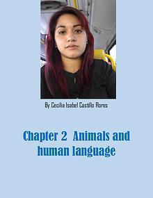 ANIMALS AND HUMAN LANGUAGE