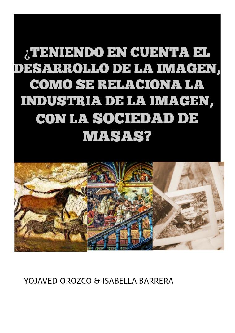 Revista: Historia social de la comunicación LA IMAGEN Y LA FOTOGRAFÍA EN RELACIÓN A LA SOCIEDA