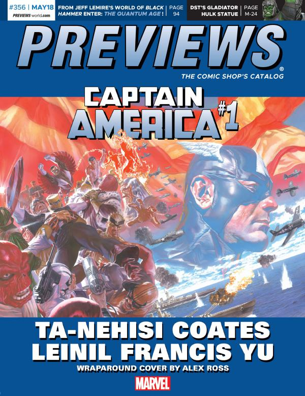 PREVIEWS May 2018