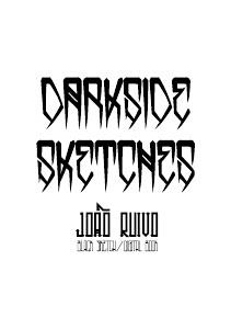 Darkside sketches illustration/sketches/digital catalog