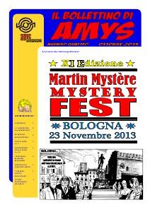 AMys - Bollettino Informativo n.4 Ottobre 2013