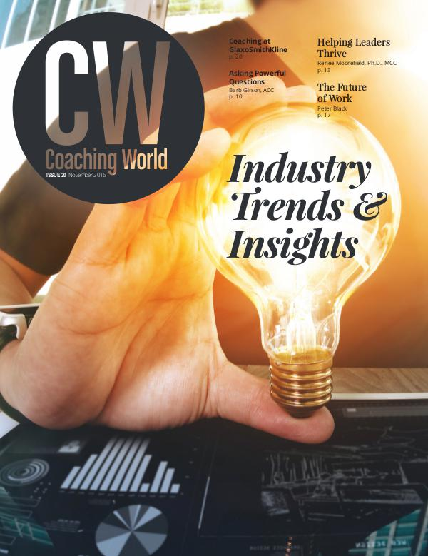 Coaching World Issue 20: Industry Trends & Insights