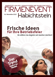 Firmenevent Habichtstein