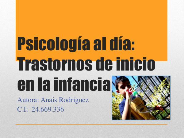 Psicología al día, Anais Rodriguez Psicologia al dia ANAIS RODRIGUEZ