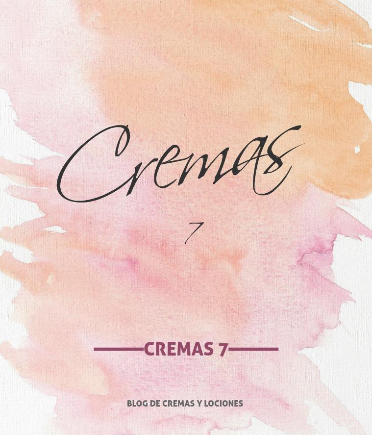 CREMAS 7 Primer post.