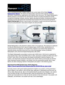 Digital Radiography Market Size by Top Key Companies 2018