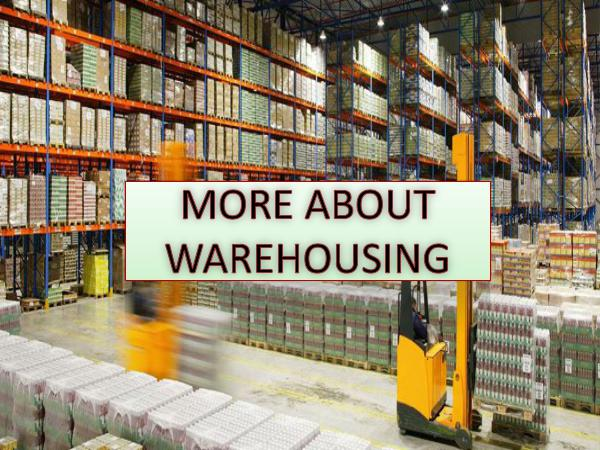 RTL Reliable Transportation More About Warehousing