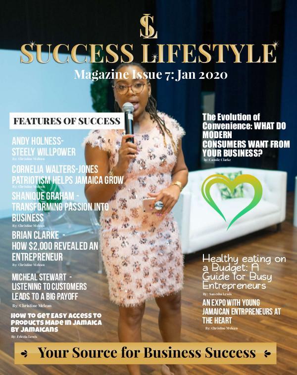 Success Lifestyle Magazine Issue 7 - January 2020