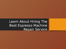 Espresso Machine - Saeco Espresso Machine | Breville | Delonghi