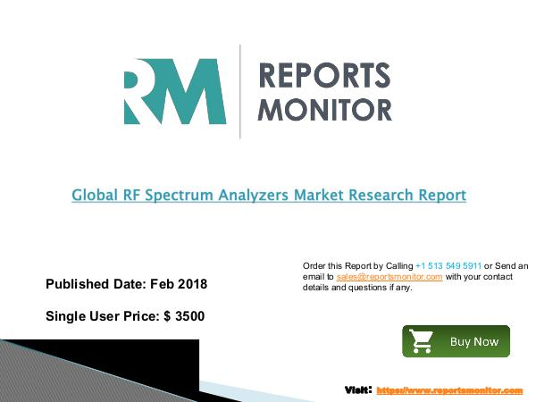 Global RF Spectrum Analyzers Market Professional S