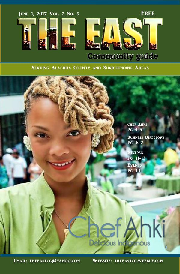 The East Community Guide - Gainesville, FL June 2017 the east